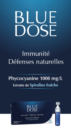Blue dose
